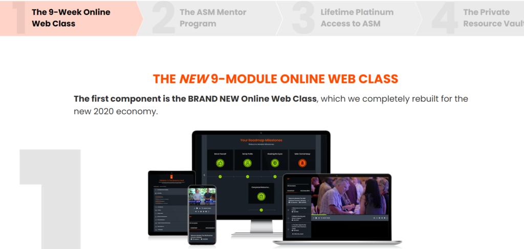 ASM 12 New 9-MODULE Online Web Class