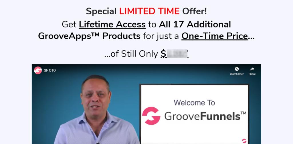 GrooveFunnels Lifetime Upgrade special offer