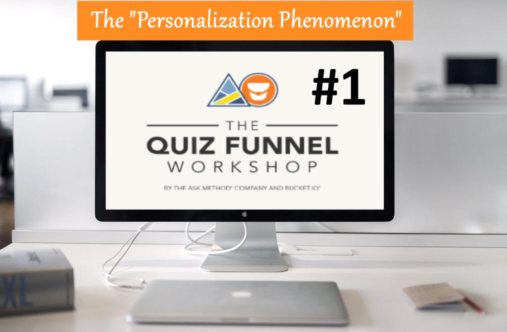 Free Quiz Funnel Workshop 1