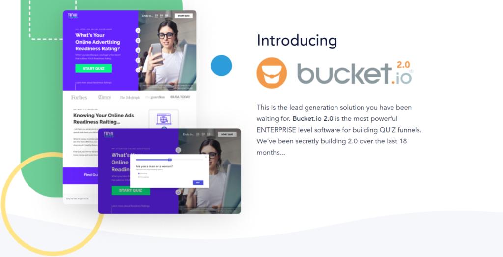 Quiz Funnels Software Bucket 2.0